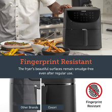 Load image into Gallery viewer, COSORI Air Fryer(100 Free Recipes Book), 1500-Watt Programmable 3.7QT, Black