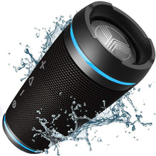 Load image into Gallery viewer, TREBLAB HD77 - Ultra Premium Bluetooth Speaker - Loud 360° HD Surround Black