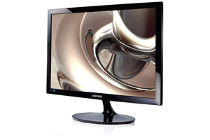 "Samsung Simple LED 24"" Monitor S24D300H with High Glossy Finish - COMPD"