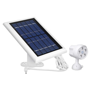 Outdoor Motion Battery Spotlight and Solar Panel 1 & Light