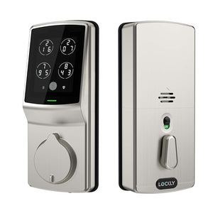 Lockly Keyless Entry Smart Lock, PIN Genie Door Lock (PGD 728) SatinNickel