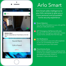 Load image into Gallery viewer, Arlo Pro 2 - Wireless Home Security Camera System with Siren - 3 Camera System
