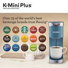 Load image into Gallery viewer, Keurig K-Mini Plus Coffee Maker, Single Serve K-Cup Pod Evening Teal