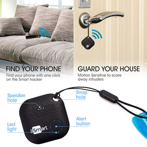 Life is Smart Key Finder Black| Phone | Bluetooth Tracking Device...