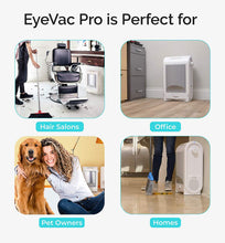 Load image into Gallery viewer, EyeVac PRO Touchless Stationary Vacuum - 1400 Watts Professional White
