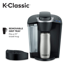 Load image into Gallery viewer, Keurig K-Classic Coffee Maker, Single Serve K-Cup Pod Brewer, 6 Black