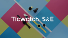 Load image into Gallery viewer, Ticwatch E most comfortable Smartwatch-Shadow,1.4 inch OLED Display, E Shadow