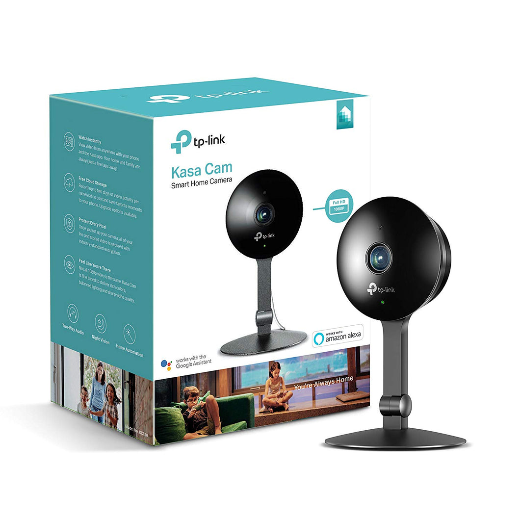 Kasa Cam by TP-Link – WiFi Camera for Home, Indoor Camera, Works with Alexa...