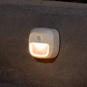 Introducing Ring Smart Lighting - Steplight, White