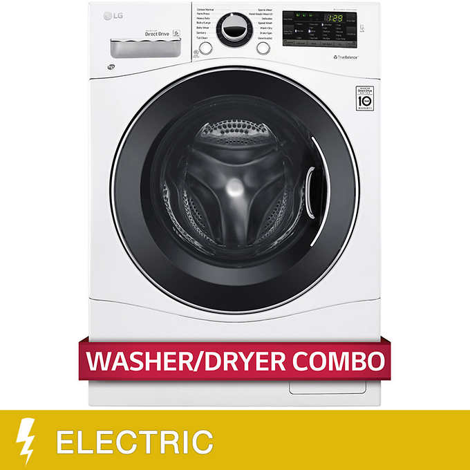 LG All-in-One 2.3CuFt Washer and ELECTRIC Ventless Dryer
