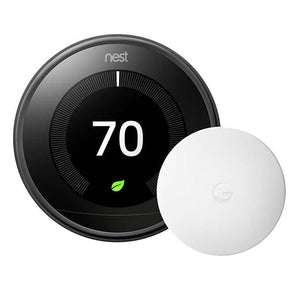 Google Nest Learning Thermostat with Temperature Sensor