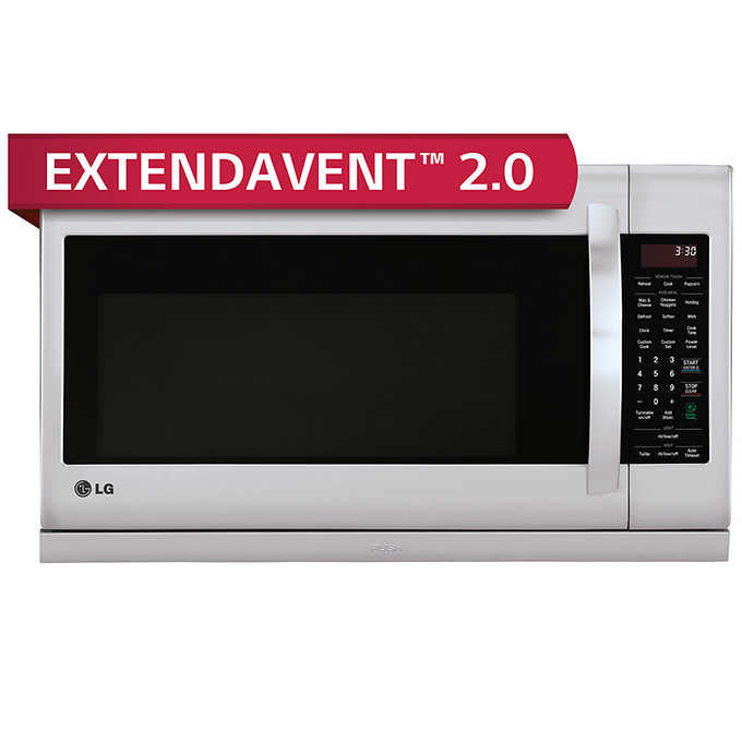 LG 2.2CuFt Over-the-Range Microwave Oven