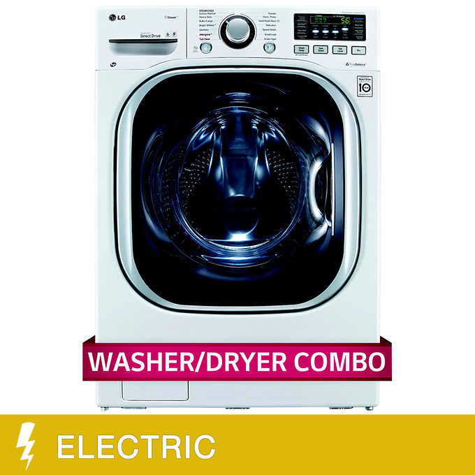 LG All-in-One 4.2CuFt Ultra Large Capacity Washer and ELECTRIC Ventless Dryer
