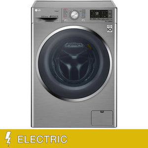 LG All-in-One Wi-Fi Enabled 2.3CuFt Washer and ELECTRIC Ventless Dryer Gray