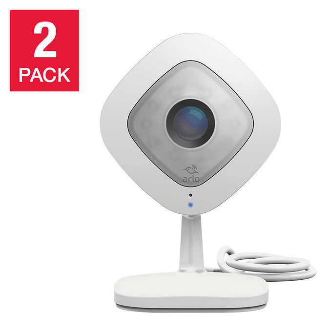 Arlo Q HD 1080p Wi-Fi IP Monitoring Camera, 2-pack