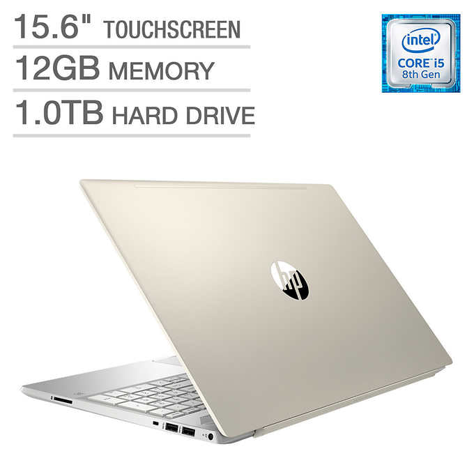HP Pavilion 15 Touchscreen Laptop - Intel Core i5 - Pale Gold