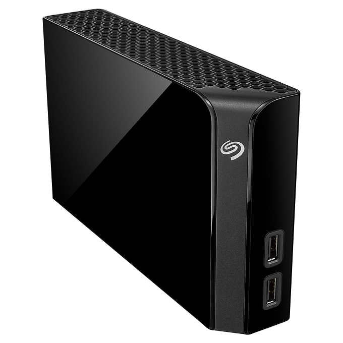 Seagate Backup Plus Hub 8TB Desktop Hard Drive with Rescue Data Recovery...