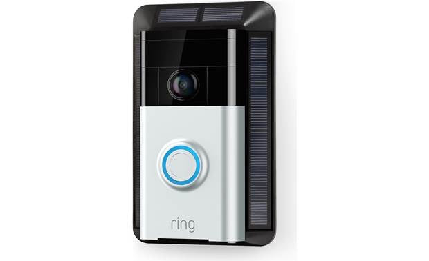 Ring doorbell with solar panel - SNSG