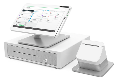 Clover Station 2 - Formerly Known as 2018 with Customer Facing Display and NFC Printer Bundle