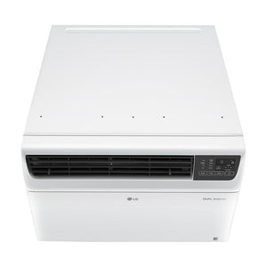 18,000 BTU Dual Inverter Smart Window Air Conditioner with Wi-Fi Enabled and...