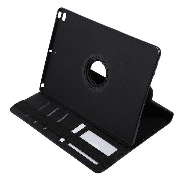 360 Degree Rotation PU Leather Tablet Cover Case Shockproof Tablet Protective Stand Cover Case Suitable For iPad Air