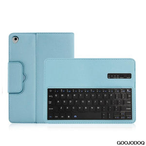 Keyboard Case For iPad 2017 9.7 2018 / Air / Air 2 Case PU Leather Magnetic Cover for iPad 2018 9.7 Case with Bluetooth Keyboard