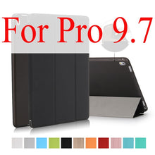 Load image into Gallery viewer, For iPad Pro 9.7 Case,for Apple iPad Mini 1 2 3 Slim PU leather Smart Cover with TPU Silicone Soft Back Shell for iPad Pro Coque