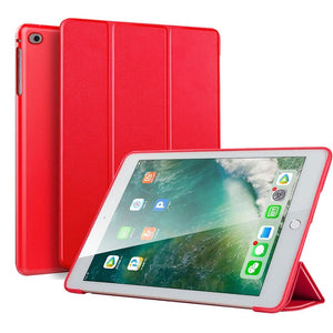 Case for iPad Air 2 1 2018 9.7 Funda Silicone Soft Back Slim Pu Leather Smart Cover Case for iPad 2018 6th generation Case