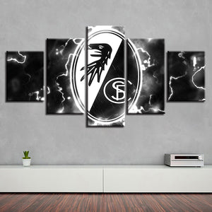 5 Panel Freiburg Décor Canvas Wall Art HD Print.