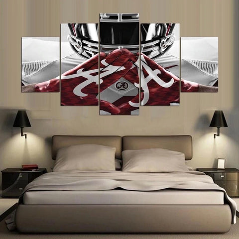 5 Panel NFL Sport Gridiron Abstract Painting Modern Decor Canvas Wall Art HD Print