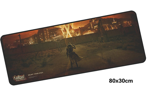 Fallout New Vegas Giant Mouse Pad 800x300mm Best PC Gaming Pad HD Print