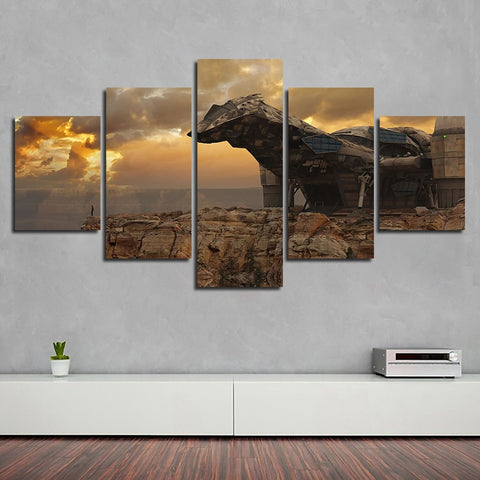 5 Panel Framed Firefly Serenity Modern Décor Canvas Wall Art HD Print
