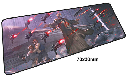 Star Wars Animated Series Large Mouse Pad 700x300mm Best PC Gaming Pad HD Print