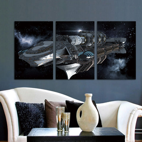 3 Piece Star Wars Movie Modern Canvas Wall Art HD Print