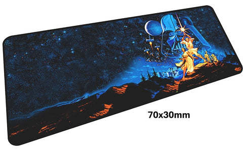 Star Wars A New Hope Large Mouse Pad 700x300mm Best PC Gaming Pad HD Print