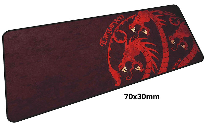 Game of Thrones Targaryen Large Mouse Pad 700x300mm Best PC Gaming Pad HD Print