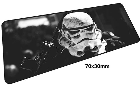 Star Wars Stormtrooper Large Mouse Pad 700x300mm Best PC Gaming Pad HD Print