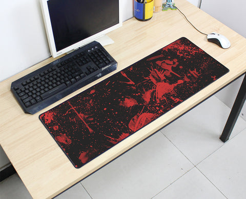 Large Blood Spatter Mouse Pad 800x300X3MMBest PC Gaming Mouse Pad HD Print