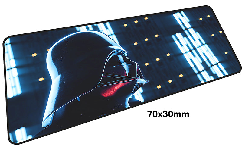 Star Wars Lord Vader Large Mouse Pad 700x300mm Best PC Gaming Pad HD Print