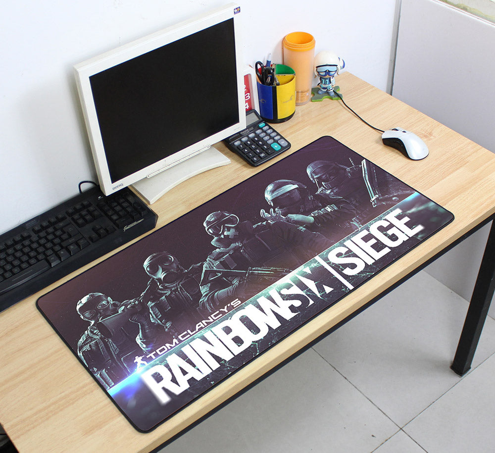 Rainbow Six Siege Ready to Go 70cmx40cm Super Large PC Gaming Mouse Pad HD Print