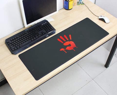 Large Bloody Red Hand Mouse Pad 800x300X3MM Best PC Gaming Mouse Pad HD Print