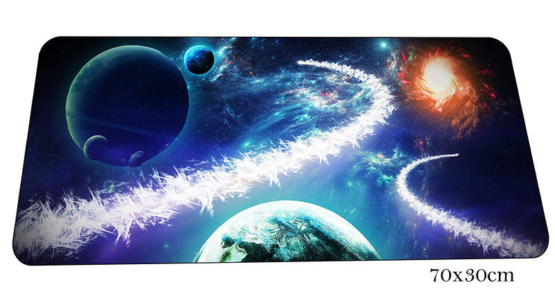 Space Series Large Mouse Pad 700x300X2mm Best PC Gaming Pad HD Print