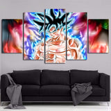 Canvas Paintings Home Decor Frame 5 Pieces Anime Dragon Z Ball Goku Poster Prints Vintage Pictures Modular Living Room Wall Art
