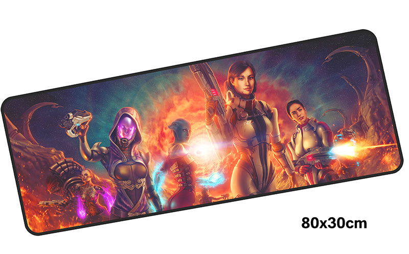 Girls of Mass Effect Large Mouse Pad 800x300mm Best PC Gaming Mouse Pad HD Print