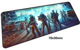 Assorted Warface Large Mouse Pad 700x300mm Best PC Gaming Pad HD Print