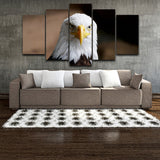 5 Panel Animal Eagle Modern Decor Canvas Wall Art HD Print