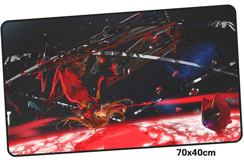Neon Genesis Evangelion Asuka Large Mouse Pad 700x400mm Best PC Gaming Pad HD Print