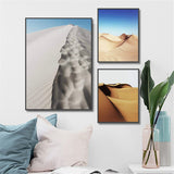 Nordic Sand Dunes Modern Decor Canvas Wall Art HD Print