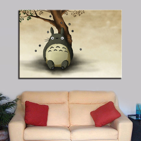 1 Pieces Totoro  odern Decor Canvas Wall Art HD Print