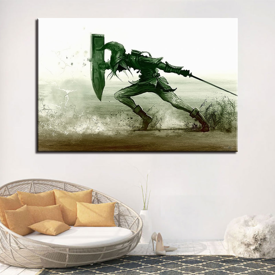 Legend Of Zelda Poster For Living Room Modern Décor Canvas Wall Art HD Print